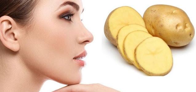 Cara alami mencerahkan kulit wajah kusam dengan kentang