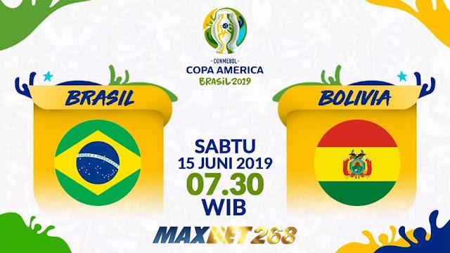 Prediksi Brasil Vs Bolivia, Sabtu 15 Juni 2019 Pukul 07.30 WIB