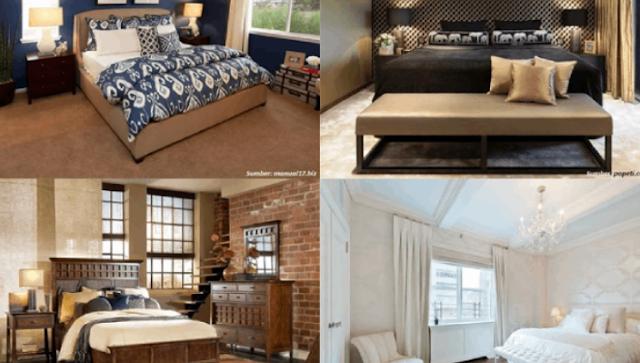 5 Riasan Kamar Tidur Di Rumah Yang Cocok Dengan Karakter