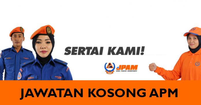 Jawatan Kosong di Angkatan Pertahanan Awam Malaysia APM