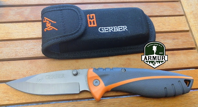 Briceag Bear Grylls Folding Sheath Knife model 133A / 31-000752 Cutit