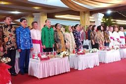 Penutupan Pesparani Katolik Nasional di Ambon Meriah, Kalimantan Timur Juara Umum