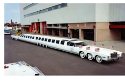 Meet The Longest Car With A Swimming Pool And 26 Wheels