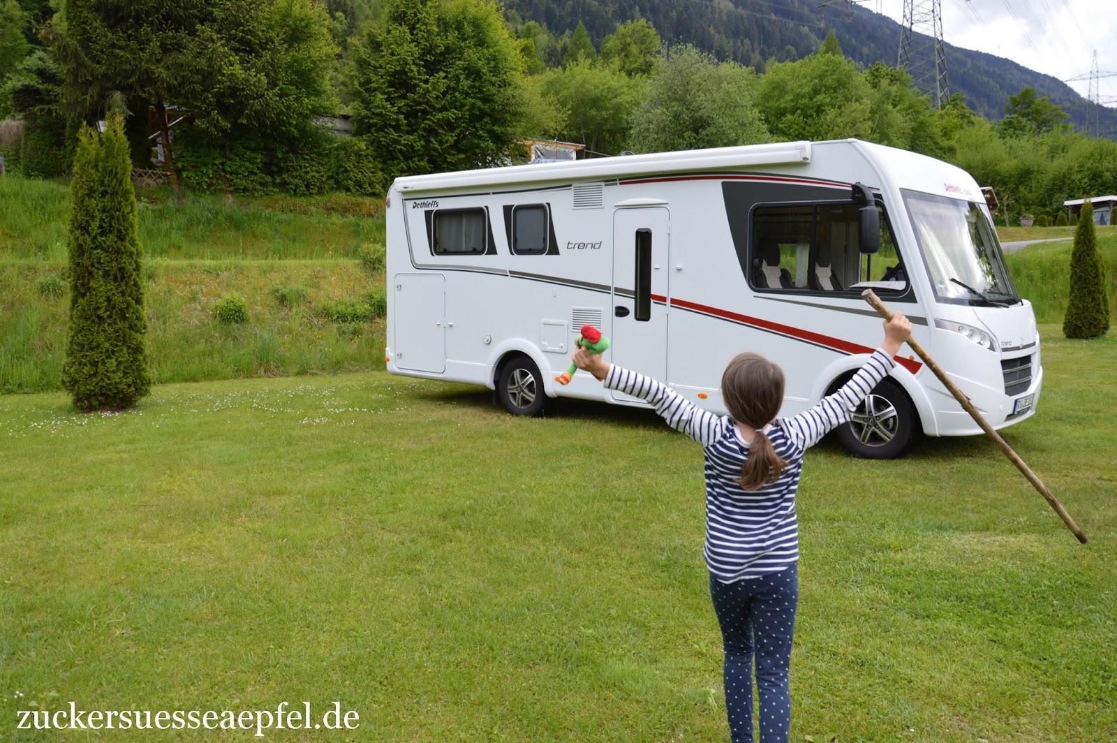 Unsere Familienreise Mit Dem Wohnmobil Zuckers E Pfel