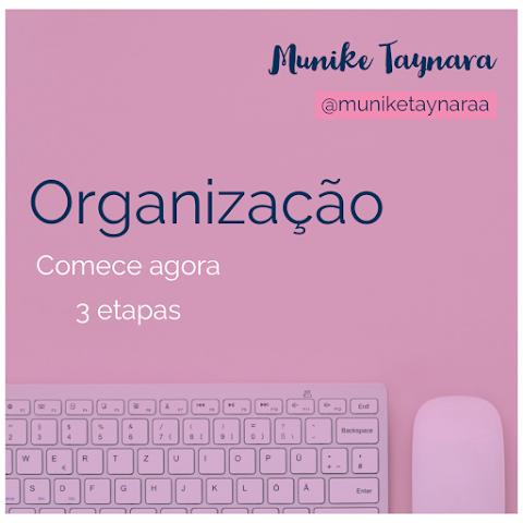 PODCAST | PILOTO - Organização | Munike Taynara
