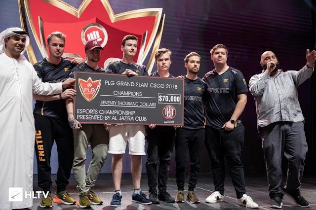 賞金総額10万ドルPLG Grand Slam 2018にて「Fnatic」が「G2」に勝利し優勝