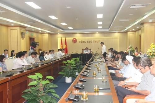 Ông Vũ Chí Hùng con rể TT Nguyễn Xuân Phúc giữ chức Phó Tổng cục trưởng Tổng cục Thuế