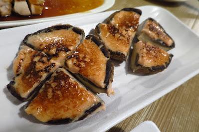 Miz Japanese Restaurant, mentaiko mushrooms