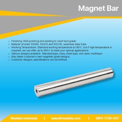 Magnet Catcher Untuk Pemurnian Kontaminan Metal