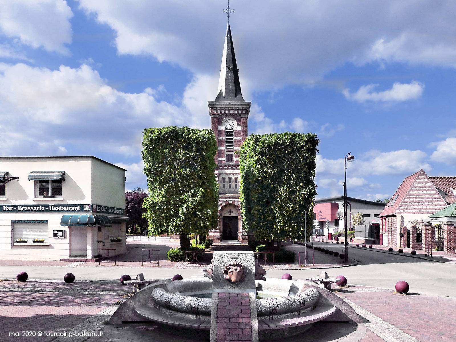 Église Saint Martin, Templemars 2020
