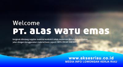 PT. Alas Watu Emas Bangkinang