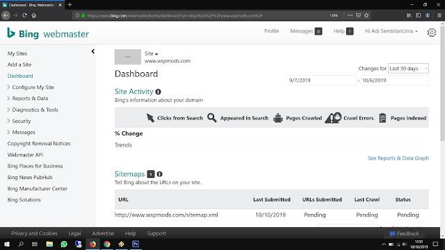 Cara Mudah Verifikasi Blog di Bing Webmaster