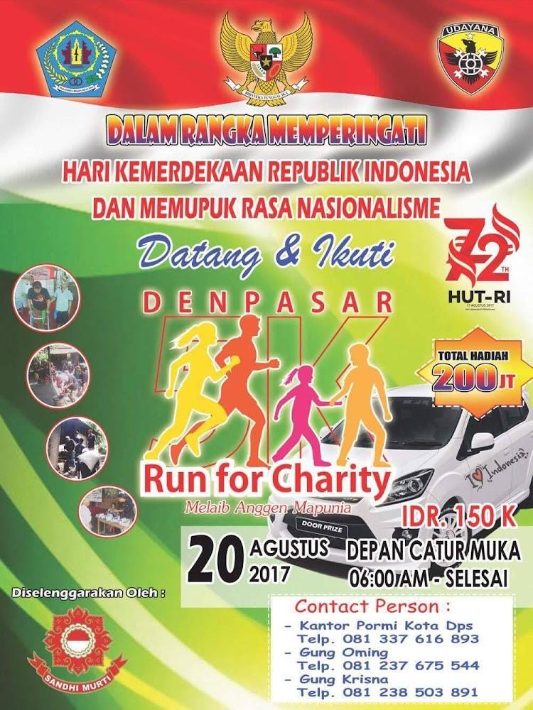 Bali Run for Charity • 2017