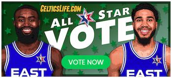 all star vote button