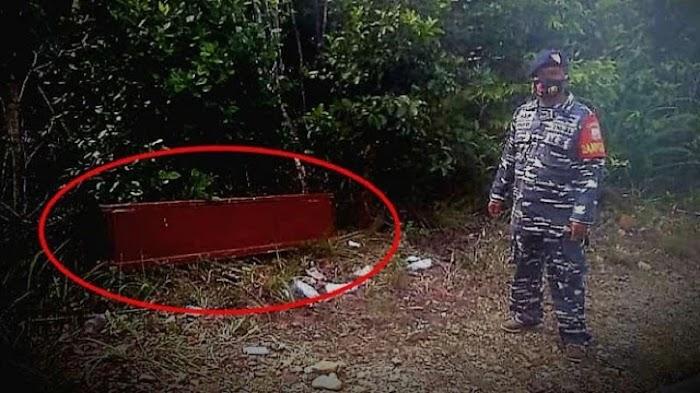 Geger Ada Peti Mayat Muncul di Jalan, Prajurit TNI Lihat Dalamnya