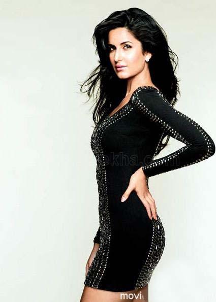 All Stars Photo Site: Katrina Kaif in Tight Black Dress
