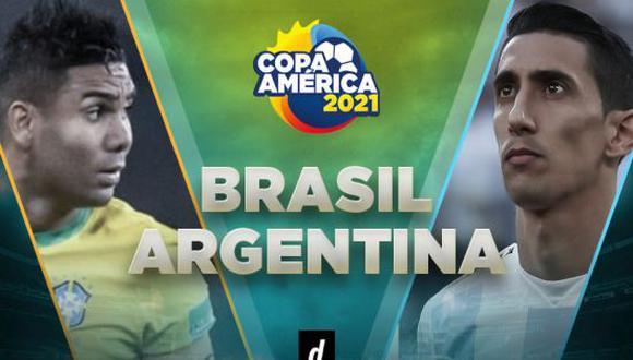 Final Copa América EN VIVO: Brasil vs. Argentina
