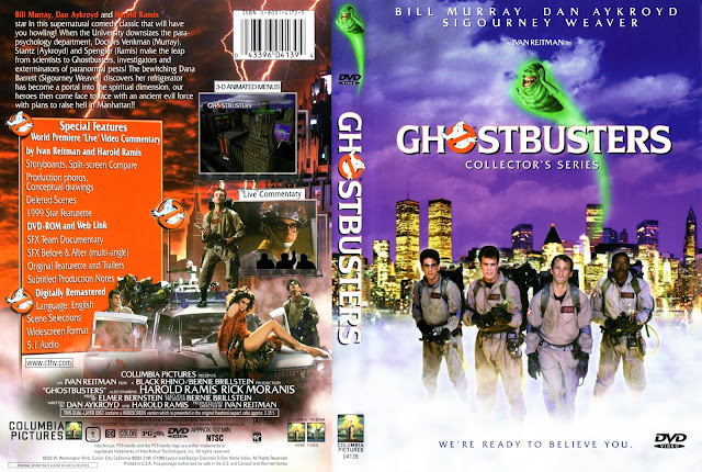 Ghost Busters (1984) DVD DVD Cover