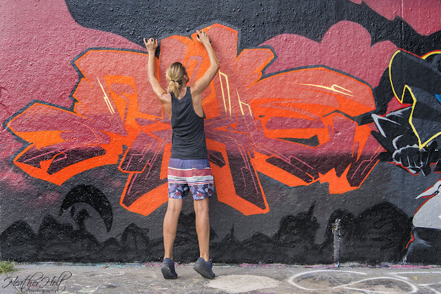 The Artist Behind The Graffiti Heather Holt Photography Cayman