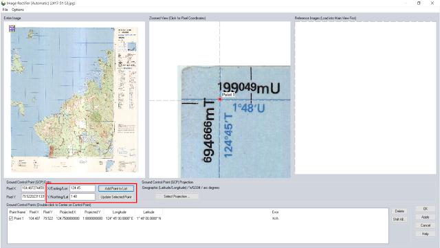 Ilustrasi Georeferencing - Tutorial Global Mapper