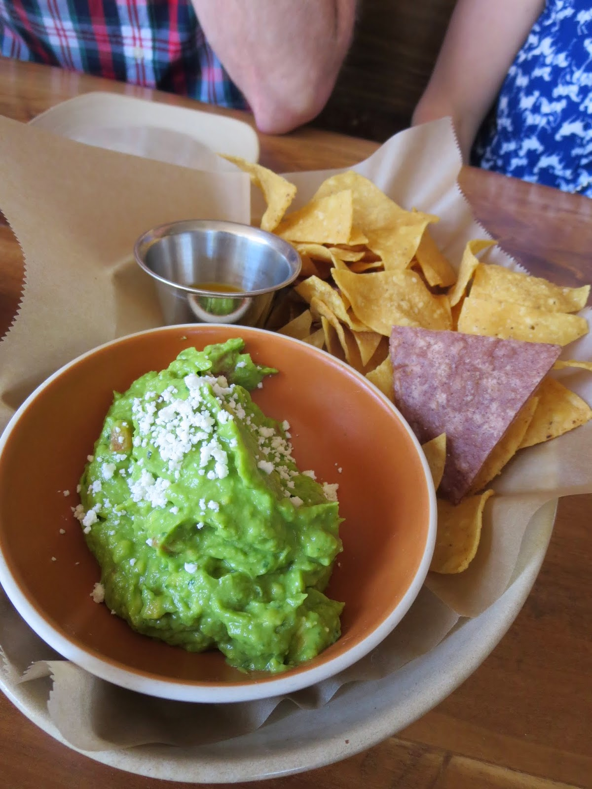 Guacamole and chips at Padrecito in San Francisco