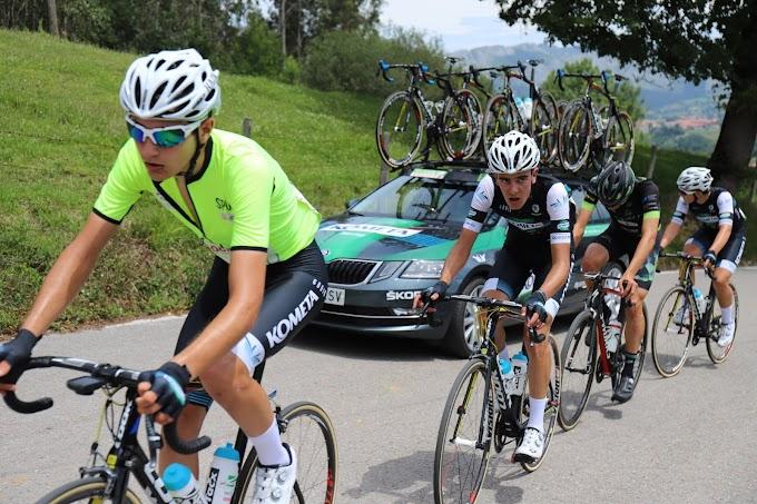 Carlos Rodríguez (Kometa Cycling Team junior), ganó la Vuelta al Besaya