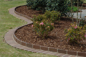 25+ Red Brick Landscape Edging Stone Pictures and Ideas on