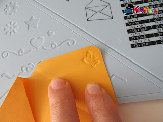 embossing a freddo su carta