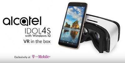 Alcatel IDOL 4S, Smartphone Windows Pertama Yang Mendukung Penggunaan VR Headset, hp canggih baru, terbaru 2016, windows phone terbaru, windows phone 2016