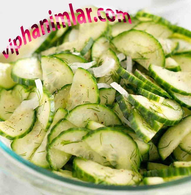 Salatalık Salatası Nasıl Yapılır?- www.viphanimlar.com