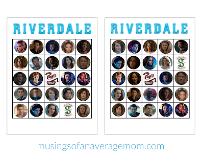 Riverdale birthday party printables