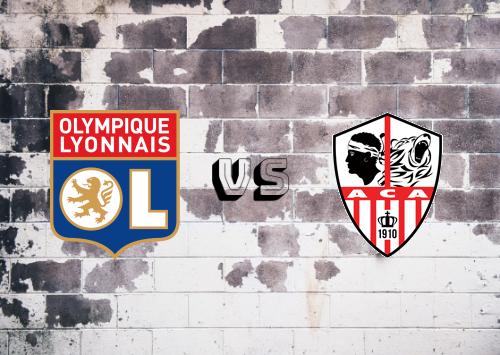 Olympique Lyonnais vs Ajaccio  Resumen