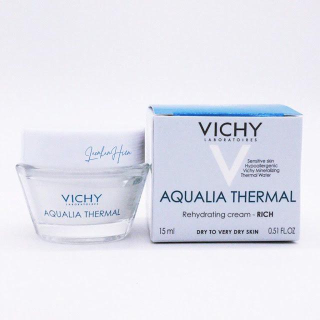 kem duong am cho da kho mun Vichy Aqualia Thermal