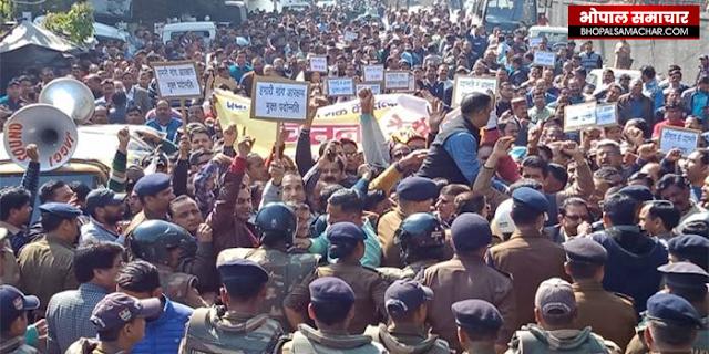 आरक्षण मुक्त प्रमोशन के लिए आंदोलन उग्र हुआ, पूरे देश में लामबंदी | NATIONAL NEWS