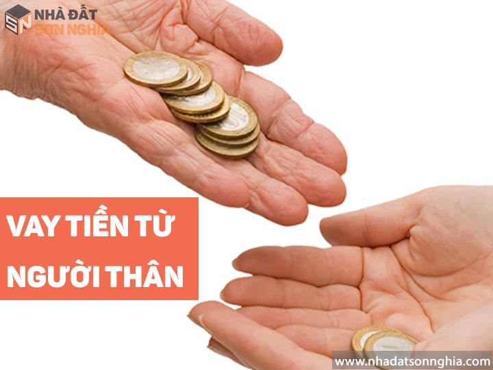 Vay tiền từ người thân