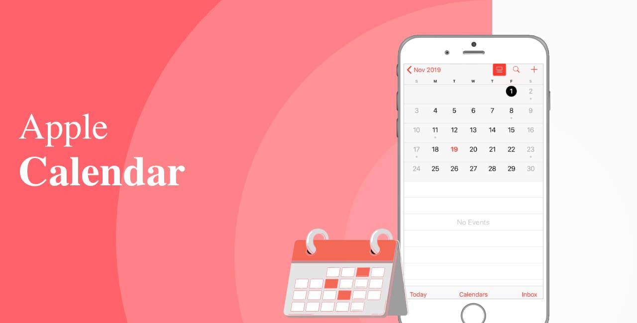 Apple Calendar (iOS, macOS, Web)