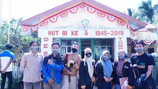 Tim Survey di Desa Tompobulu, Kabupaten Pangkep