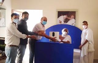 श्री मोहनखेड़ा में आचार्यश्री के प्रयासों से 16 आक्सीजन कंसंट्रेटर मषीने प्राप्त हुई