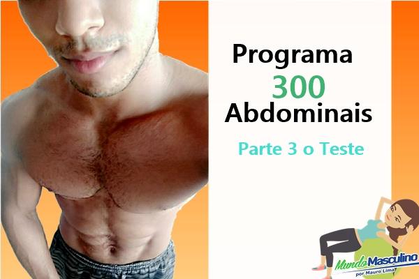 Programa de 300 Abdominais - Parte 3 O Teste