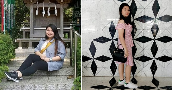 Girl's incredible transformation wows netizens