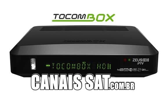 Tocombox Zeus IPTV Atualização V03.055 - 04/11/2020