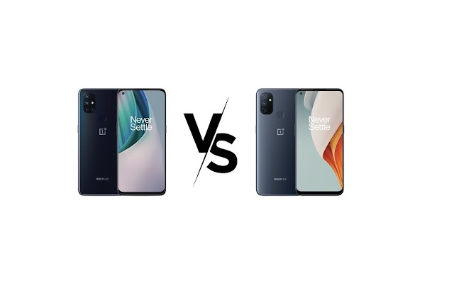 OnePlus Nord N10 5G vs. OnePlus Nord N100: Comparatifs