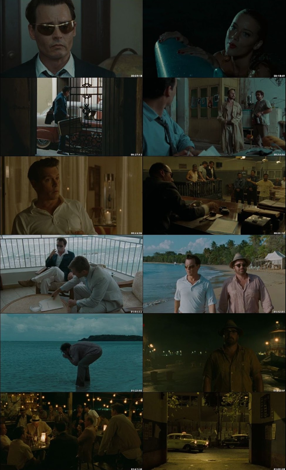 Screen Shot Of The Rum Diary 2011 300MB Full Movie Hindi Dubbed Free Download 480P BRRip Small Size PC Movie
