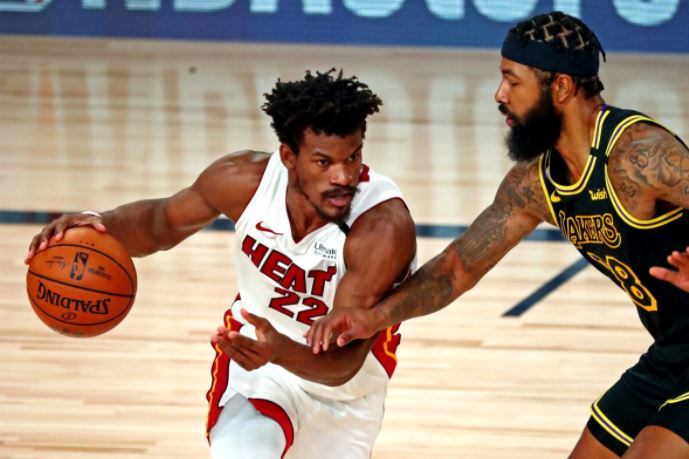 Heat dodges sweep, wins Game 3 vs. Lakers