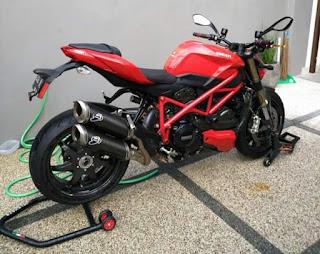 Fast Sale : Ducati SF 848 2013 FP (STNK BPKB)