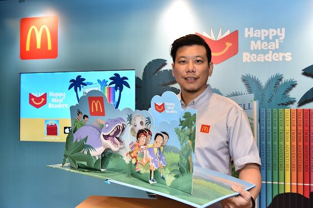Program Happy Meal Readers McDonald's Erat Hubungan Kekeluargaan Dengan Aktiviti Membaca