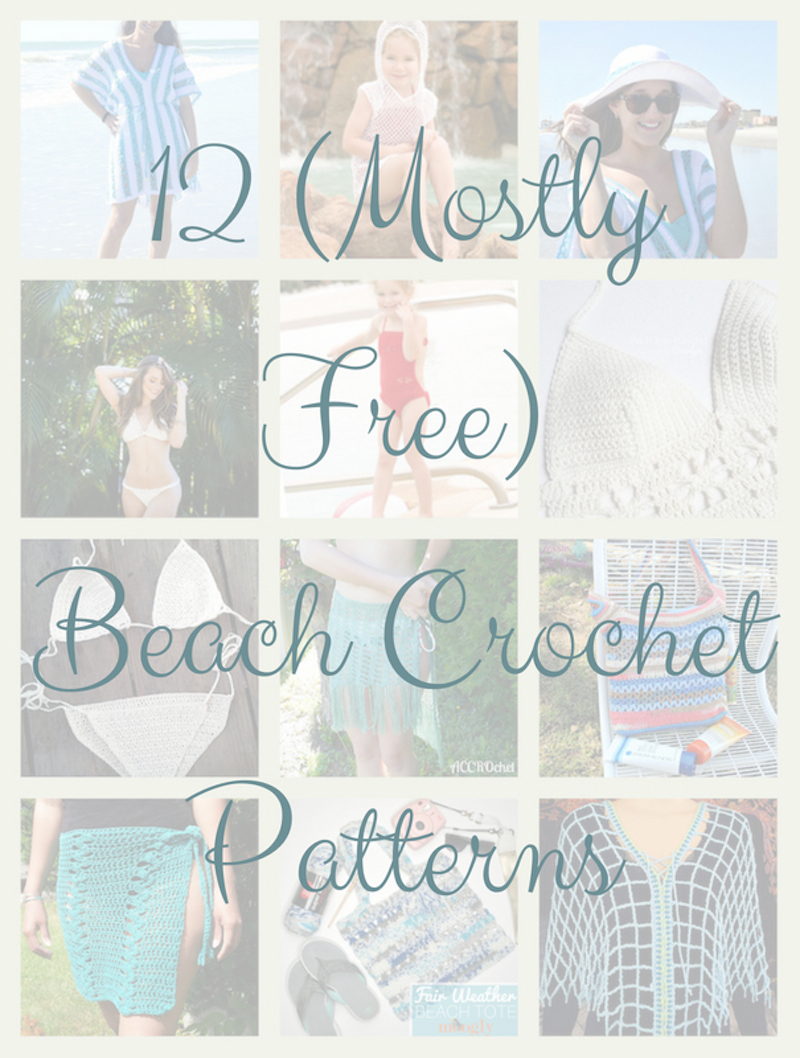 CGOA Now!: 12 (Mostly Free) Crochet Beach Patterns