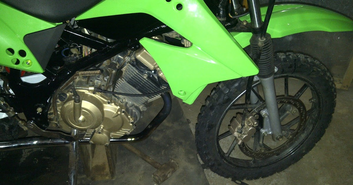 Modifikasi Motor Trail Susuki Satria FU 150cc
