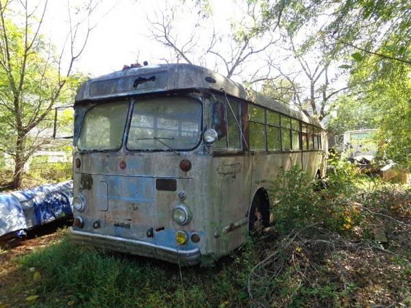 Antique Bus 1951 ACF Brill