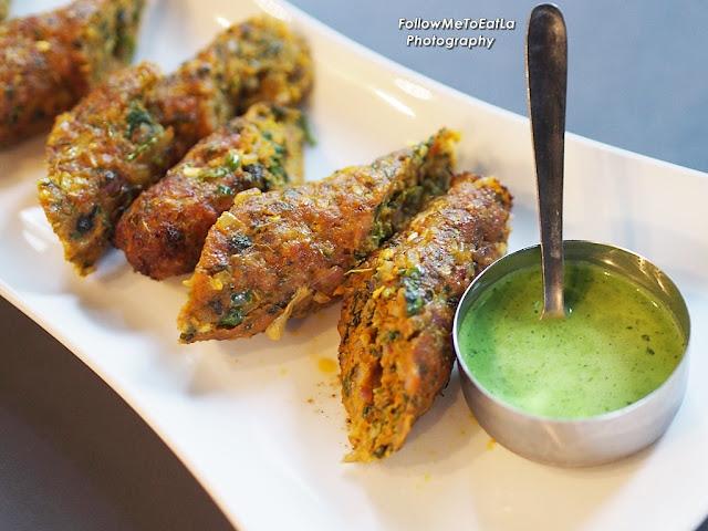 Pork Seekh Kebab